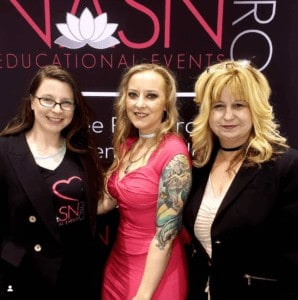 Stephanie Andresen at a NASN Pro Event