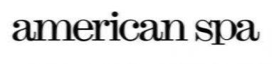 american spa logo white